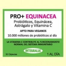 Pro+ Equinácea - Probióticos - 30 cápsulas - Integralia