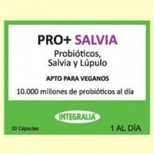 Pro+ Salvia - Probióticos - 30 cápsulas - Integralia