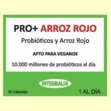 Pro+ con Arroz Rojo - Probióticos - 30 cápsulas - Integralia