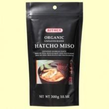 Hatcho Miso No Pasteurizado - 300 gramos - Mitoku