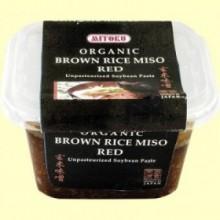 Miso Rojo de Arroz Integral - 300 gramos - Mitoku
