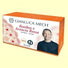 Infusión Rooibos Naranja Roja Bio - 20 sobres - Gianluca Mech