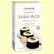 Arroz para Sushi - 500 gramos - Clearspring