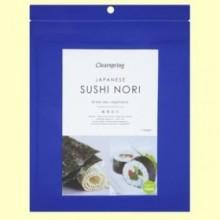 Alga Sushi Nori - 17 gramos - Clearspring
