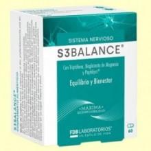 S3 balance - L-triptófano - FDB Laboratorios - 60 cápsulas