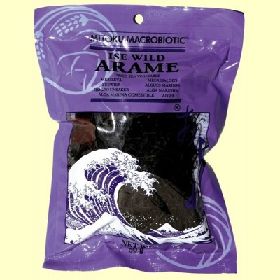 Alga Arame - 50 gramos - Mitoku