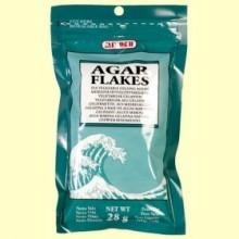 Agar Flakes - 28 gramos - Mitoku