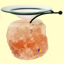 Difusor de aromas y aceites esenciales con base de Sal del Himalaya