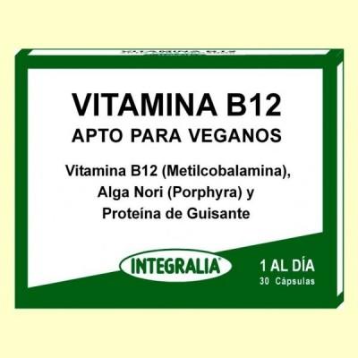 Vitamina B12 - 30 cápsulas - Integralia