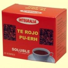 Té Rojo Pu Erh Soluble - 20 sobres - Integralia
