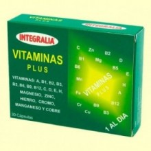 Vitaminas Plus - 30 cápsulas - Integralia