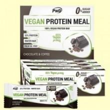 Vegan Protein Meal Chocolate Café - 12 barritas - PWD