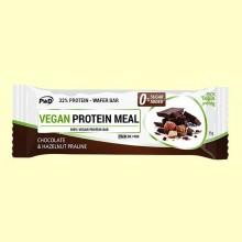 Vegan Protein Meal Chocolate Praliné - 1 barrita - PWD