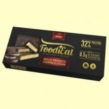 Dulce Proteico Cookies Cream Foodieat - 170 gramos - NutriSport