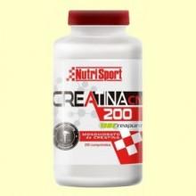Creatina 200 Monohidrato - 200 comprimidos - NutriSport