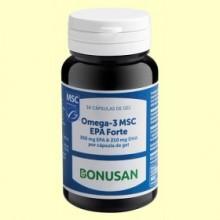 Omega 3 MSC EPA Forte - 30 cápsulas - Bonusan