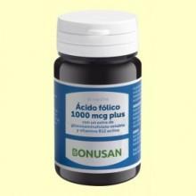 Ácido Fólico 1000 mcg Plus - 90 tabletas - Bonusan