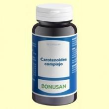 Carotenoides Complejo - 60 cápsulas - Bonusan