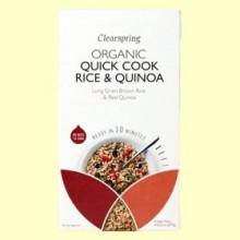 Quick Cook Arroz y Quinoa - 250 gramos - Clearspring