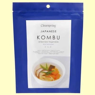 Kombu - Vegetales de Mar - 50 gramos - Clearspring