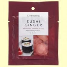 Jengibre de Sushi Japonés - 50 gramos - Clearspring