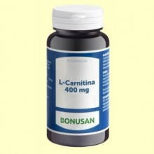 L-Carnitina 400 mg - 60 cápsulas - Bonusan
