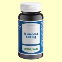 D Manosa 500mg - 120 tabletas - Bonusan