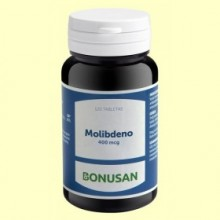 Molibdeno 400 mcg - 120 tabletas - Bonusan