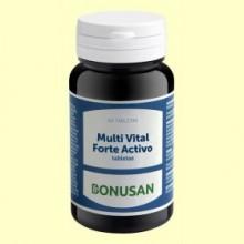 Multi Vital Forte Activo - 60 tabletas - Bonusan