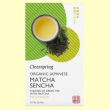 Té Matcha Sencha - 20 filtros - Clearspring