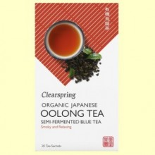 Té Oolong - 20 filtros - Clearspring