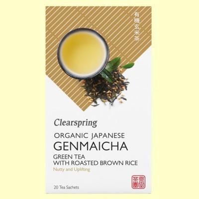 Té Genmaicha - 20 filtros - Clearspring