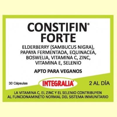 Constifin Forte - Sistema Inmunitario - 30 cápsulas - Integralia
