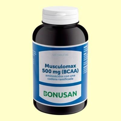 Musculomax BCAA 500 mg - 120 tabletas - Bonusan