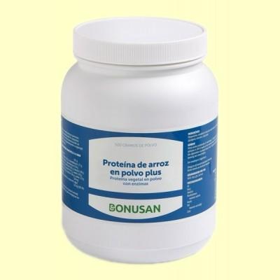 Proteína de Arroz en Polvo Plus - 500 gramos - Bonusan