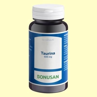 Taurina 600 mg - 60 cápsulas - Bonusan