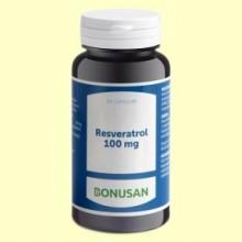 Resveratrol 100 mg - 60 cápsulas - Bonusan