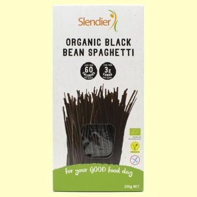 Espaguetis de Soja Negra - 200 gramos - Slendier
