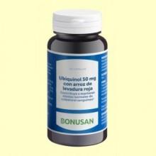 Ubiquinol 50 mg con Arroz de Levadura Roja - 60 cápsulas - Bonusan