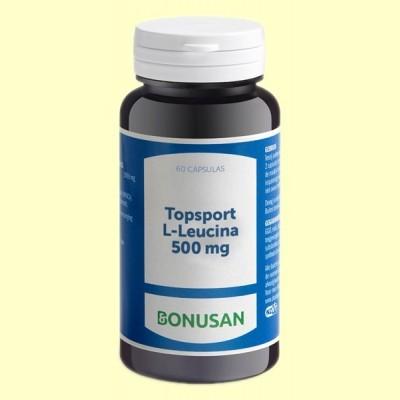 Topsport L Leucina 500 mg - 60 cápsulas - Bonusan