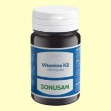 Vitamina K2 100 mcg Plus - 60 comprimidos - Bonusan