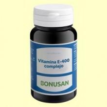 Vitamina E 400 Complejo - 60 cápsulas - Bonusan