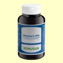 Vitamina C 500 Masticable - 60 tabletas - Bonusan