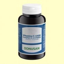 Vitamina C 1000 Complejo de Ascorbatos - 100 tabletas - Bonusan