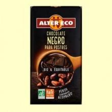 Chocolate Negro para Postres Bio - 200 gramos - Alter Eco