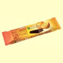 Chocolate Negro Stevia con Naranja - 35 gramos - Torras