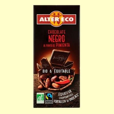 Chocolate Negro al Punto de Pimienta Bio - 100 gramos - Alter Eco