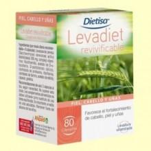 Levadiet Revivificable - 80 cápsulas - Dietisa