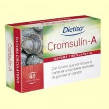 Cromsulín A - 48 comprimidos - Dietisa