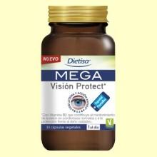 Mega Vision Protect - 30 cápsulas - Dietisa